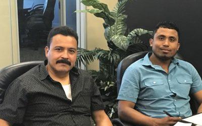 Jesús Reyes y Roberto Santiago