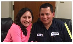 Ingrid y Fredy López