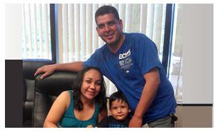 Graciela Rocha y Familia